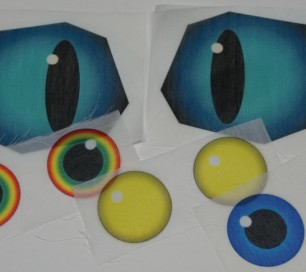 Sublimated Eyes - Custom