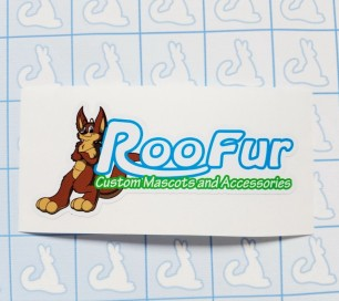 Roofur Sticker