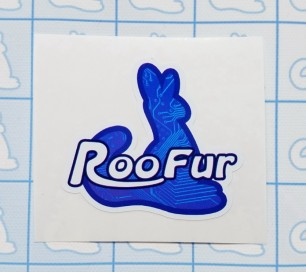 Roofur Sticker (Techno)