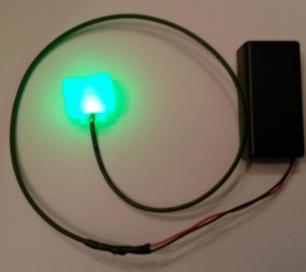 LED Ear Plug Piercing
