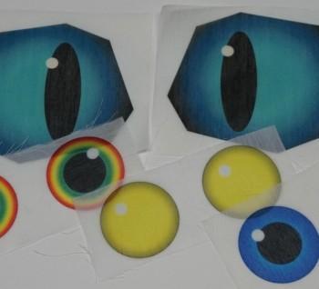 Sublimated Eyes - Custom