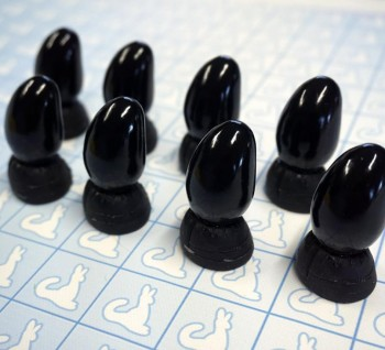 Resin Claws - Hands - Pre-made (Black x8)