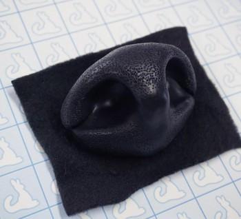 Nose - Ursine (Silicone) - Pre-made (Black)